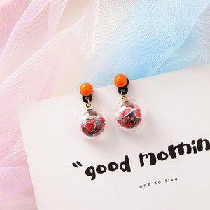 ❤️️NEW UNIQUE Cute Watermelon Handmade Earrings J7